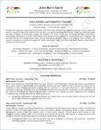 Model Resume For Teaching Profession Ceciliaekici Com