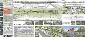 Санкт Петербургский государственный архитектурно строительный  Соломонова Анна Дизайн проект благоустройства многофункциональной среды вдоль пр Стачек