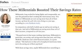 Millennial Quotes Custom Forbes Quotes Kyle On Millennial Saving Habits Kyle McMahon