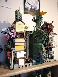 My Ninjago City, where two lego dimensions collided.: lego