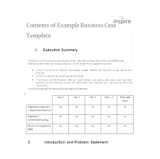 Simple Business Case Template Word Business Plan Template Business