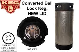 Converted <b>Ball Lock Keg</b>, Cornelius <b>Keg</b>, 5 Gallon w/ NEW <b>Posts</b> + ...