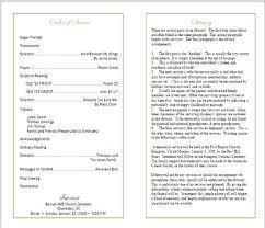 funeral mass program funeral mass program template funeral mass program template