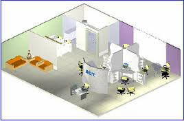 front office layout. Front Office Operation Layout A