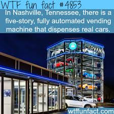 Interesting Facts About Vending Machines Magnificent The First Vending Machine For Real Cars WTF Fun