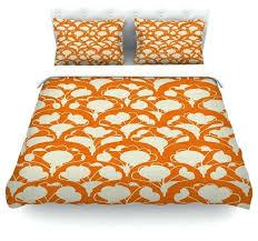 art deco duvet cover drew art in orange white duvet cover cotton art deco quilt cover art nouveau quilt cover