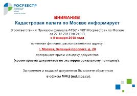 Росреестр Кадастровая палата по Москве реализовала механизм уведомления кадастровых инженеров в электронном виде