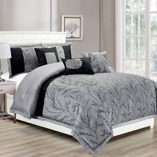 arena  pc queen comforter set (greyblack)  comforter set  jysk