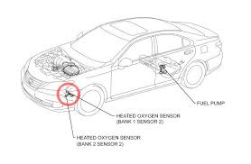 lexus es how to replace oxygen sensor clublexus figure 3 potential sensor location