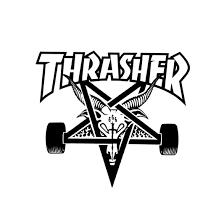 Thrasher Davis Mag Logo Tee – Hard Times Skate Shop