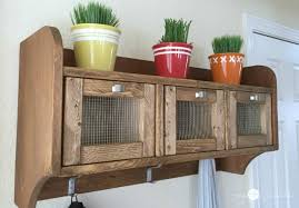 wall hanging storage shelves. Enjoy Shelves With Storage Very Much Because Of The Functionality And Look Simple DIY Hanging Shelf Cute Country Cottage Flair For Wall