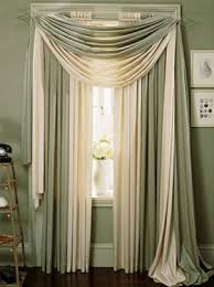 Image Diy Ways To Hang Sheer Curtains How To Drape Scarf Valance Overstockcom Pinterest How To Drape Scarf Valance Bj Deco Scarf Valance Window Scarf