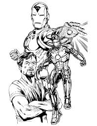Small Picture Cool Iron Man Coloring Page H M Coloring Pages