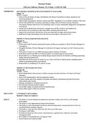 Product Manager Resume Sample Finance Product Manager Resumes Velvet Jobs Uat Example Templates 38