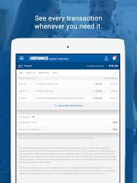 brink s money paycard on the app
