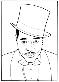 Small Picture 5 Plain Black History Month Coloring Pages ngbasiccom