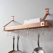 pot racks hanging wall mounted