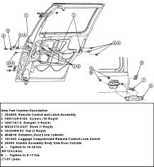 ford windstar sliding door parts
