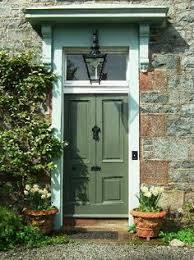 green front doorsFront Door Replacement Made Huge Impact on Curb Appeal  Door