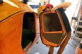 teardrop camper door build your own mobile camping pod with teardrop camper kit teardrop trailers teardrop