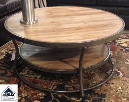 ashley furniture round coffee table home design goo
