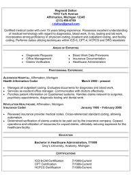 sample resume of a medical biller and coder medical billing and coding resume sample