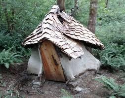 Hobbit House in Tree Stump