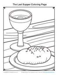 Communion For Kids Coloring Pages Color Bros