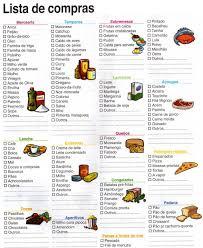 Lista De Compras Para El Supermercado Como Organizar Suas Compras De Supermercado