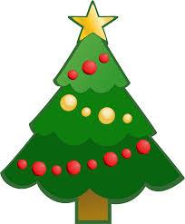 Simple Christmas Tree Clipart