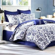navy blue and white bedding navy fl comforter navy blue and white comforter bedding set with
