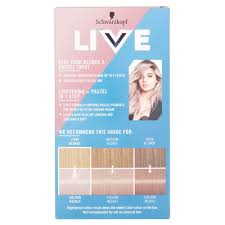 Schwarzkopf Live Lightener Twist 104 Cool Lilac Hair Dye