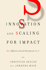 Cite Innovation And Scaling For Impact How Effective Social