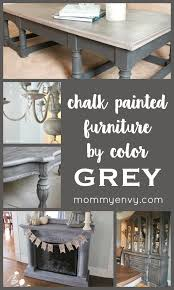 chalk painted furniture by color series grey chalk painted furniture projects mydiyenvy