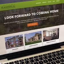 Apartment Website Design Simple Web Design Madison WI Web Development Kella Design