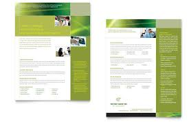 marketing slick template internet marketing datasheet template word publisher