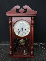 wall chime clock day wall chime clock w wind up key antique wall chime clocks