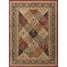 sensation red 11 ft x 15 ft transitional area rug