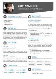 Free Modern Resume Templates Unique Modern Resume Templates Free Wwwmetrobaseballus