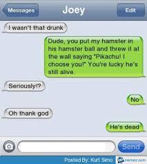 I wasn't that drunk text | Memes.com via Relatably.com