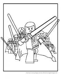 Small Picture Lego Star Wars Coloring Page Coloring Pages Characters Pinterest