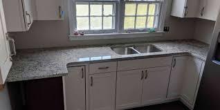 project profile dallas white granite countertops in ft oglethorpe ga 30742
