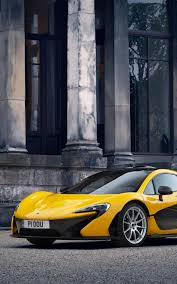 Yellow McLaren P1 4K Ultra HD Mobile ...
