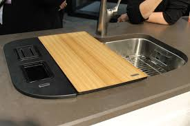 Sink With Cutting Board Kitchen Sink Cover Cutting Board Image Furniture Inspiration