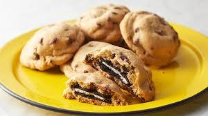 Oreo Stuffed Chocolate Chip Cookies Recipe Tablespooncom
