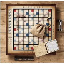 Vintage Wooden Board Games Vintage Wooden Deluxe Scrabble Set The Modern Being 70