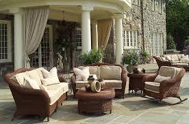 elegant patio furniture. Traditional Outdoor Wicker Furniture Elegant Patio O