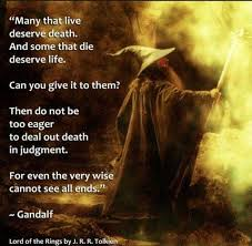 Lord Of The Rings Gandalf Quote