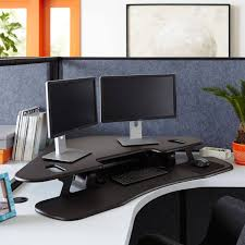office cubicle accessories. Standing Desk VariDesk Cube Corner Office Cubicle Accessories