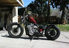 mashed up life honda shadow vlx 600 bobber peanut tank cool